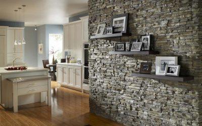 Декоративная отделка стен: виды облицовки +75 фото