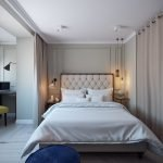 Маленькая спальня с балконом
