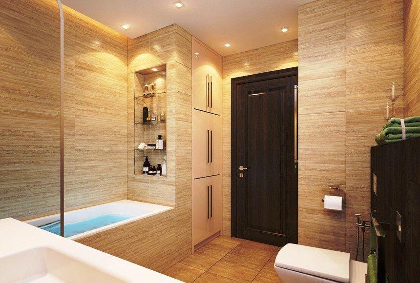 «Дизайн ванной комнаты с нишей» коллекция пользователя