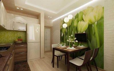 Дизайн кухни в современной квартире +75 фото