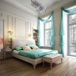 Классический декор спальни