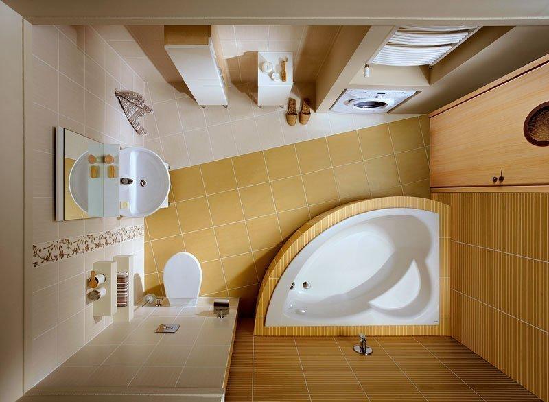 Планировка малогабаритной ванной в хрущевке