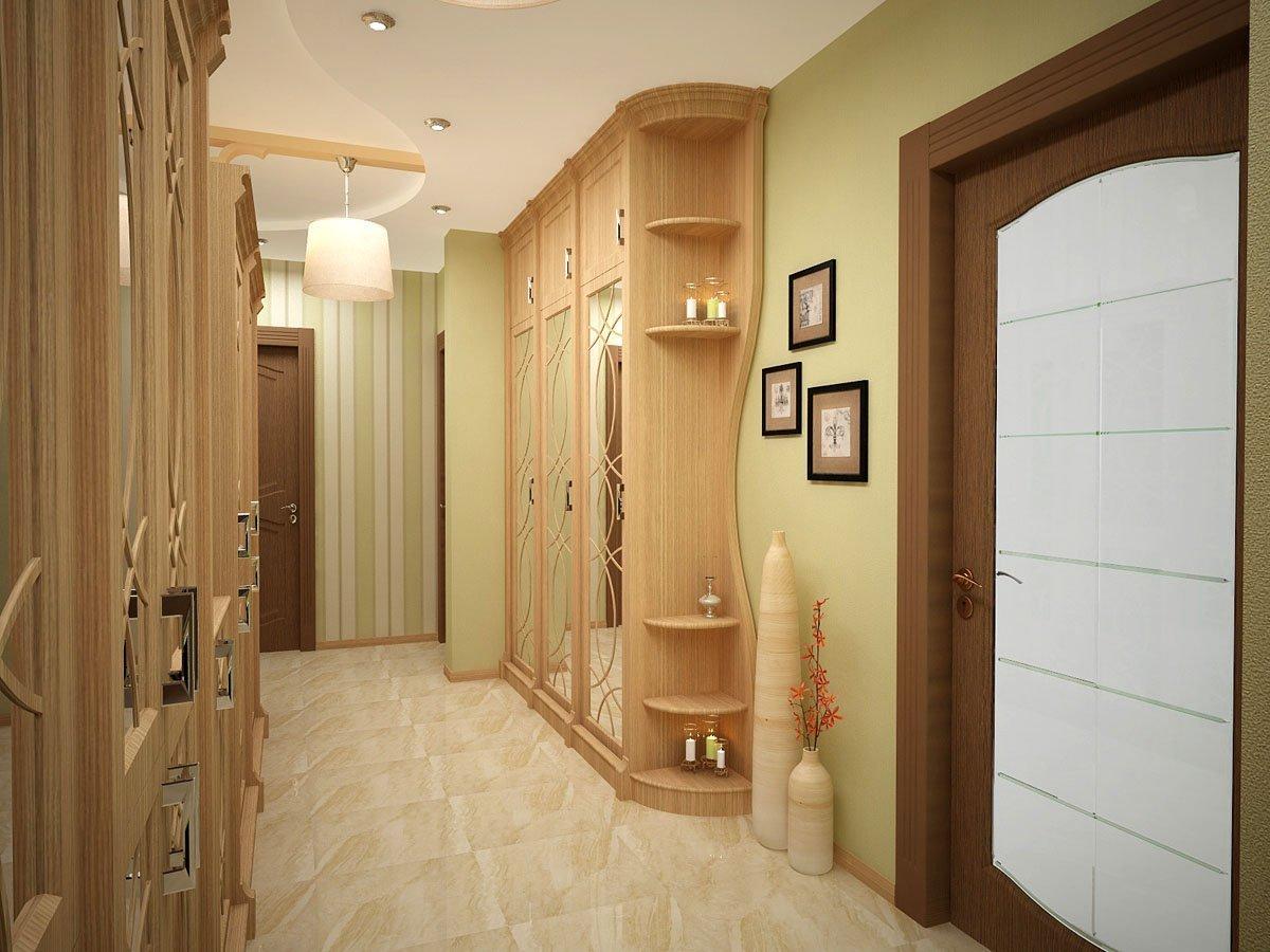 Дизайн интерьера прихожей в доме 47