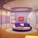 Эффектный дизайн спальни