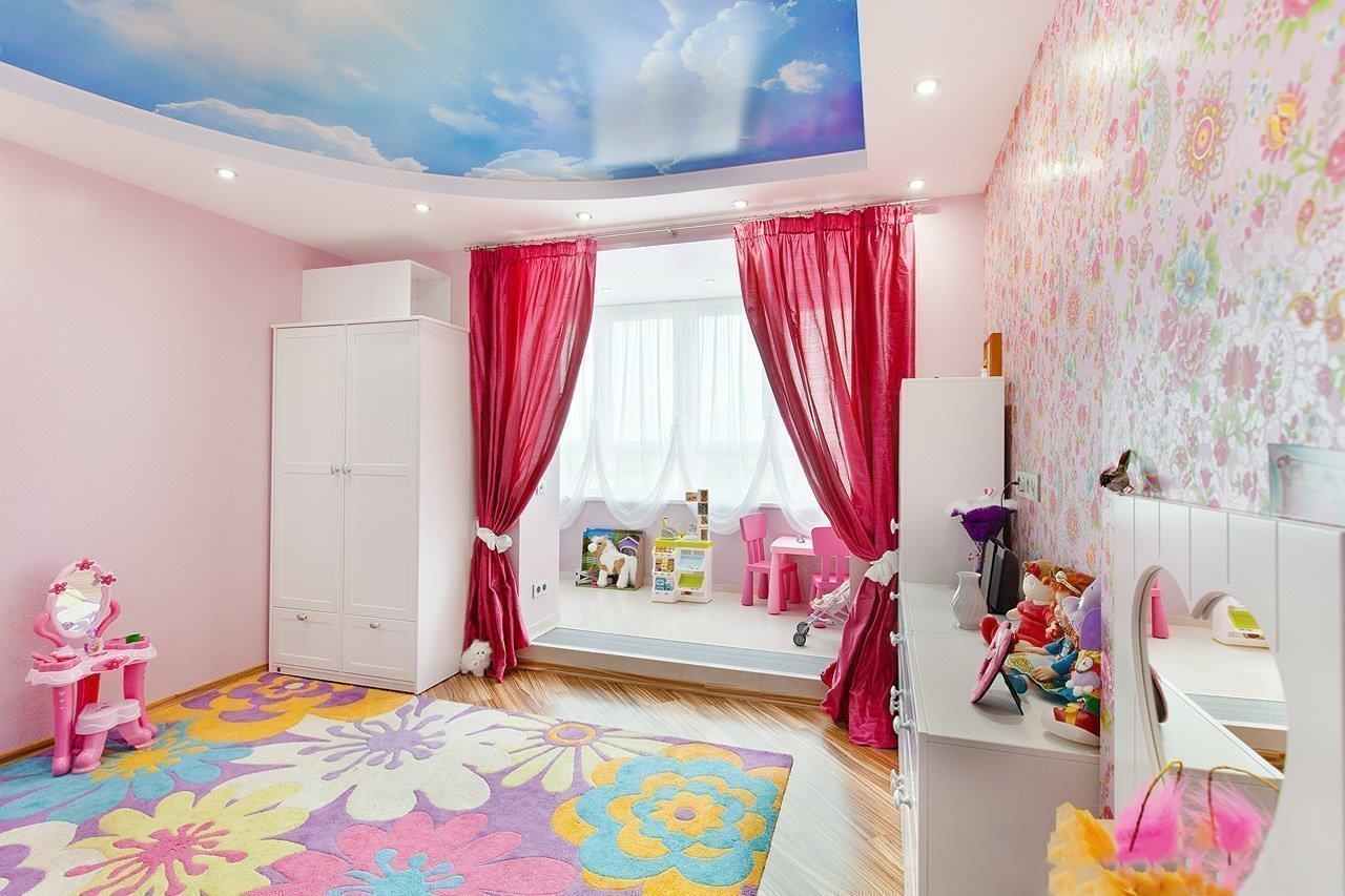 Яркие шторы для комнаты