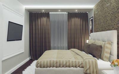 Дизайн спальни в хрущевке +75 фото примеров