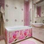 Орхидеи на ванне
