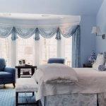 Декор комнаты в голубом цвете