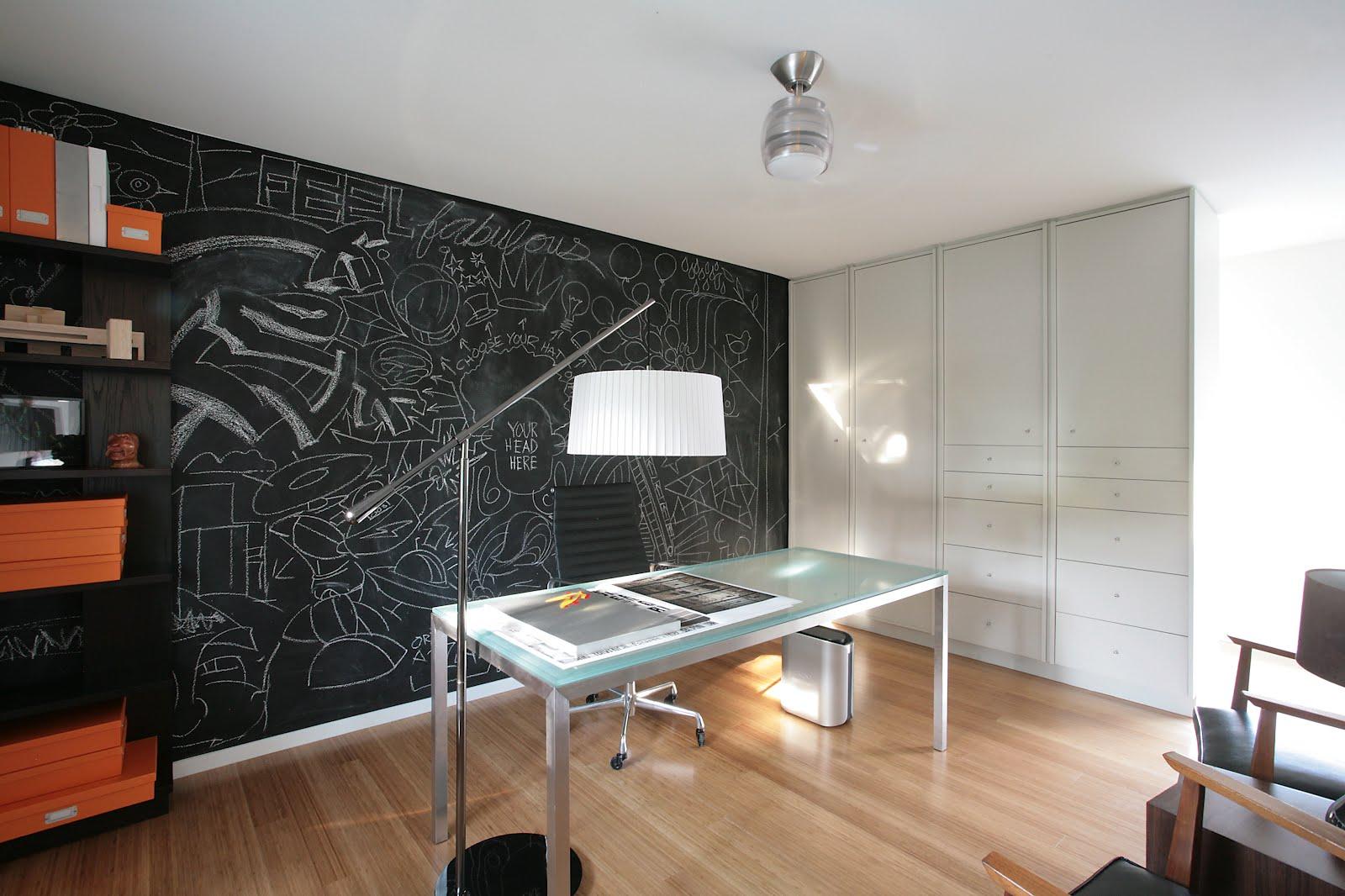 Современная мебель в кабинете