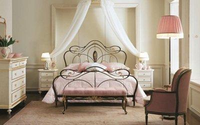 Кованые кровати в современном интерьере спальни + 75 фото примеров моделей