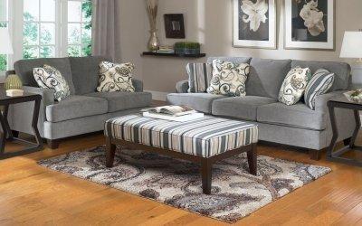 Серый диван: его особенности и сочетания цветов +75 фото
