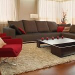 Мебель в гостиной в винтажном стиле