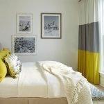 Современный декор небольшой спальни