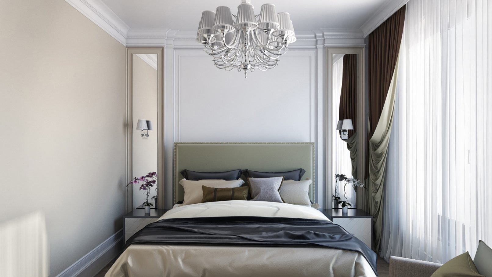 Уютная спальня 6 кв. м.
