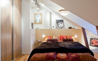 Оформляем интерьер спальни на 6 кв. м +50 фото