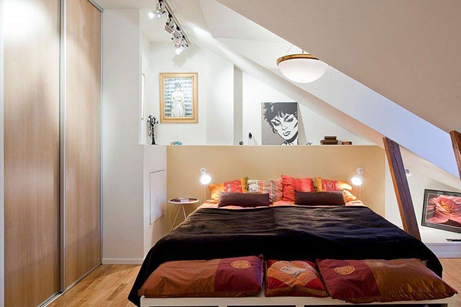 Спальня 6 кв м дизайн