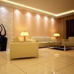 Потолок со светодиодной подсветкой