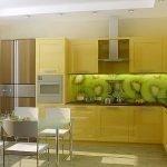 Кухонный фартук с киви
