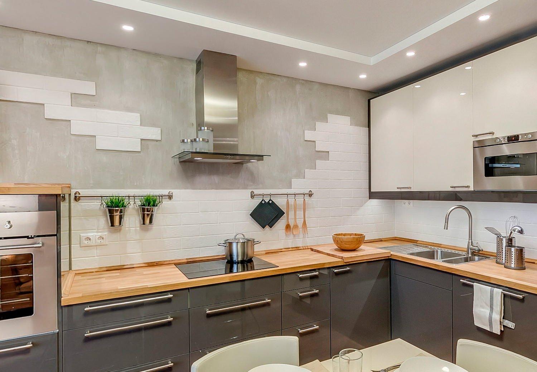 Современная кухня в квартире