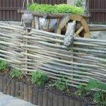 Лапоть на заборе