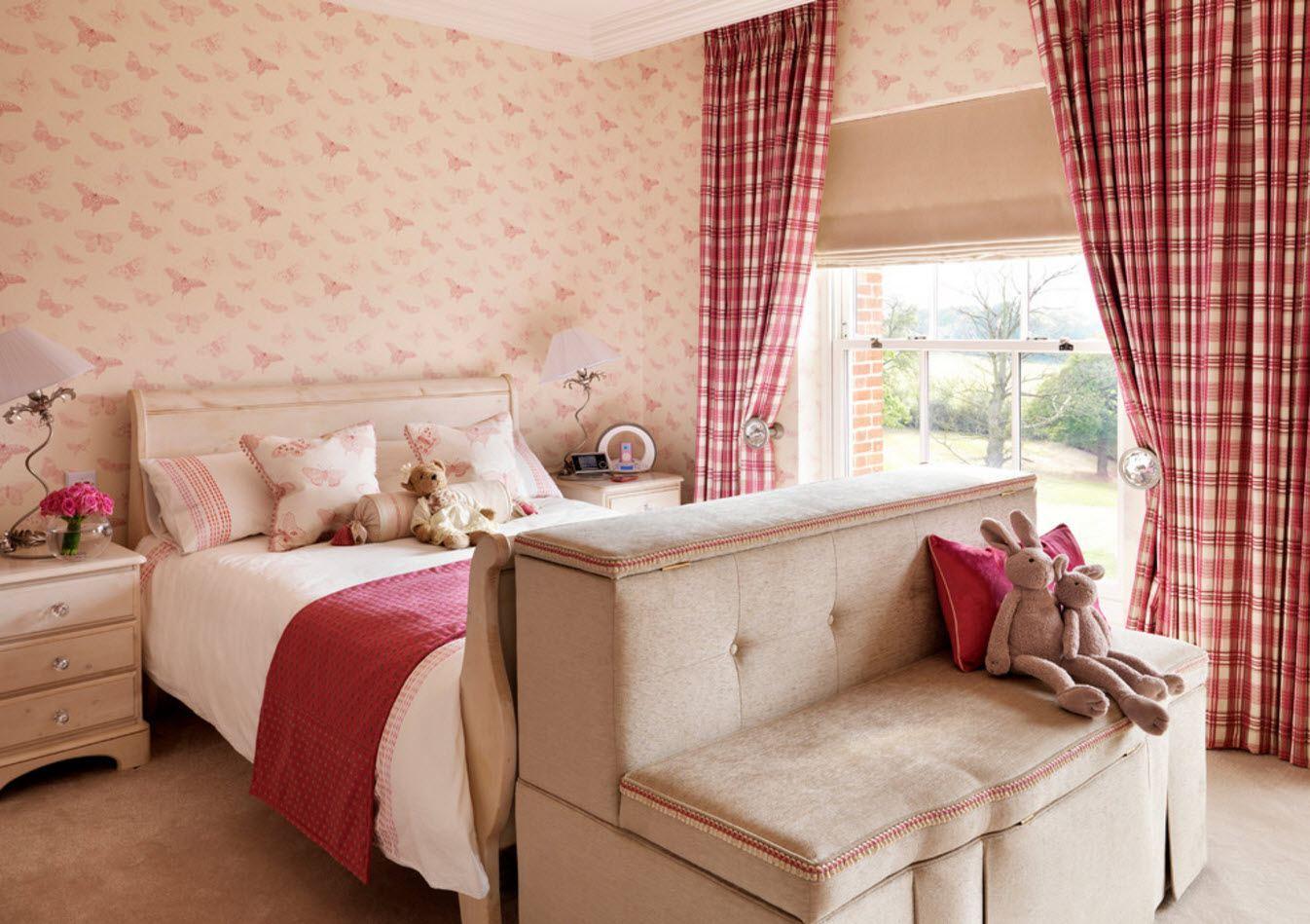 Текстиль для детской спальни