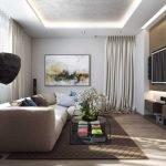 Многоуровневый потолок в интерьере