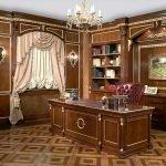 Роскошный дизайн кабинета