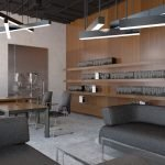 Современный интерьер офисного помещения