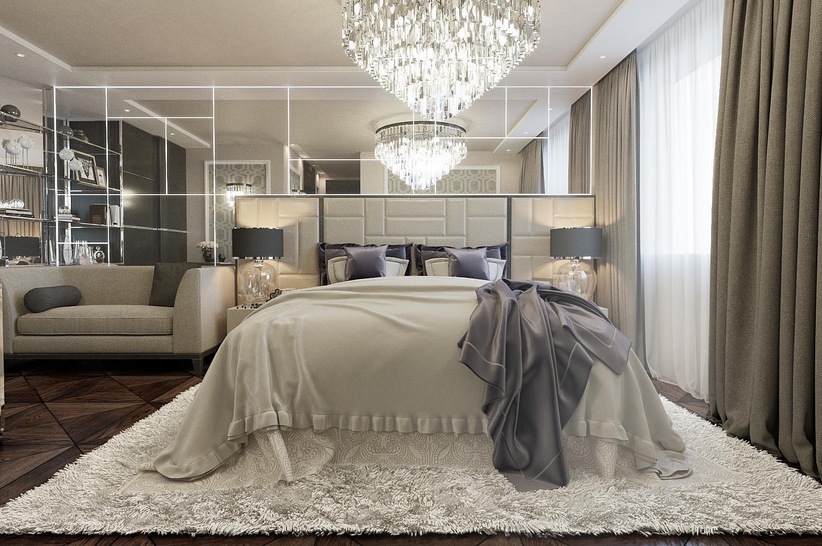 Спальня для женщины 50 лет
