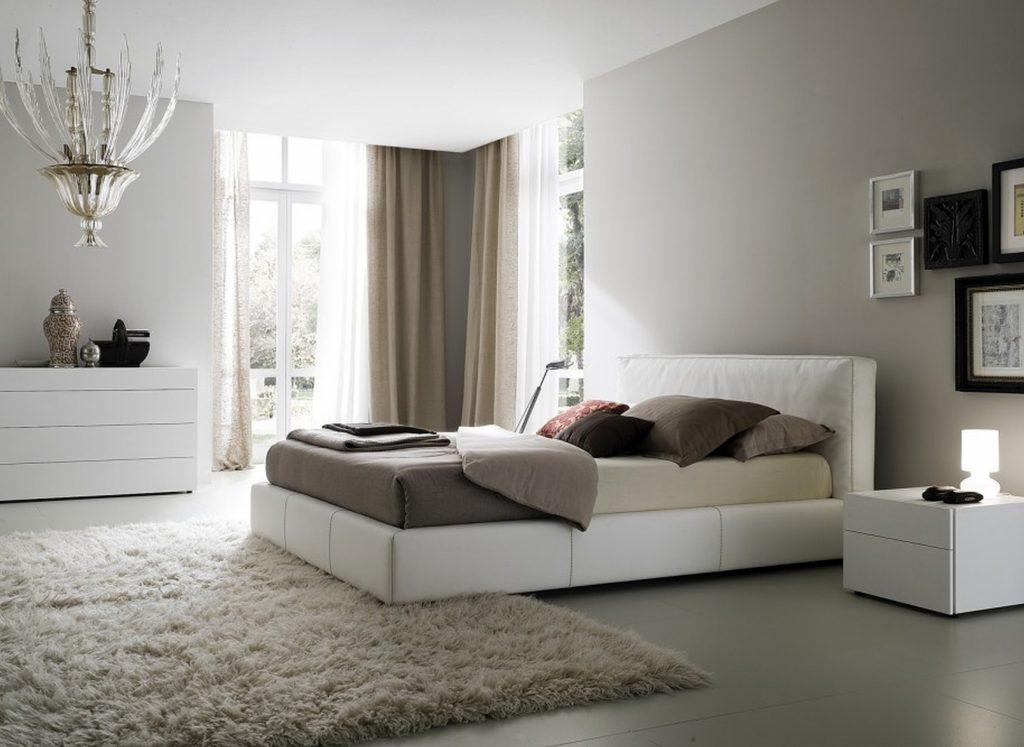Пастельные тона в декоре спальни