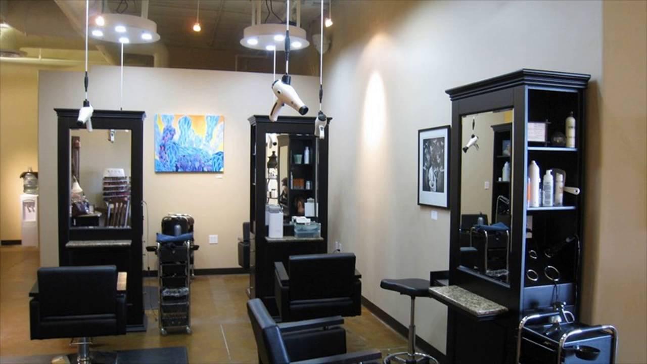 Рабочая зона для парикмахера