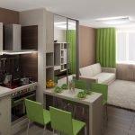 Дизайн-проект малогабаритной квартиры