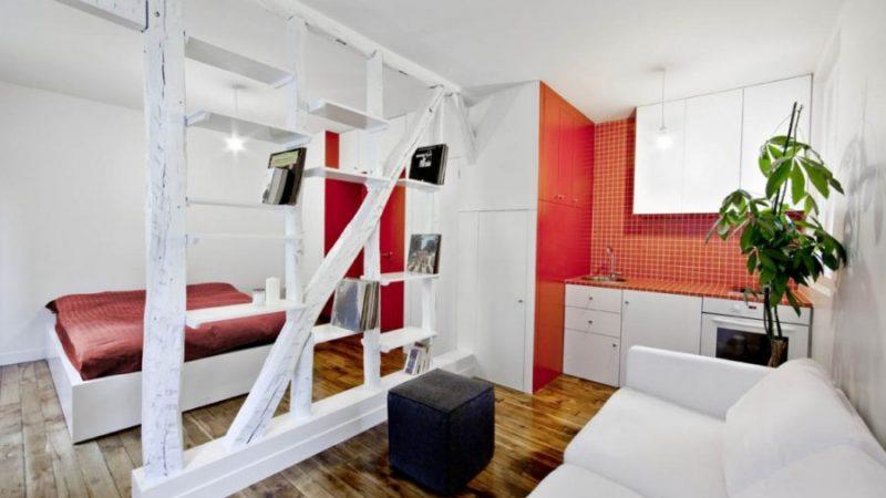 Дизайн студии 24 кв м