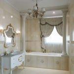Колонны в ванной