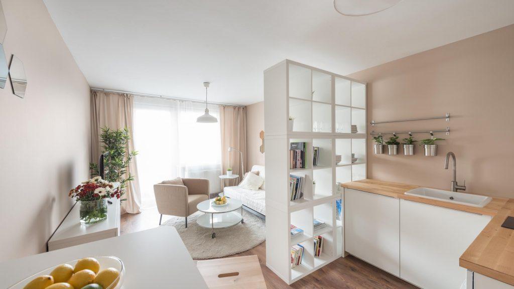 Дизайн квартиры-студии 28 квадратных метров