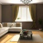 Модельная картина над диваном