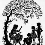Девушка и дети