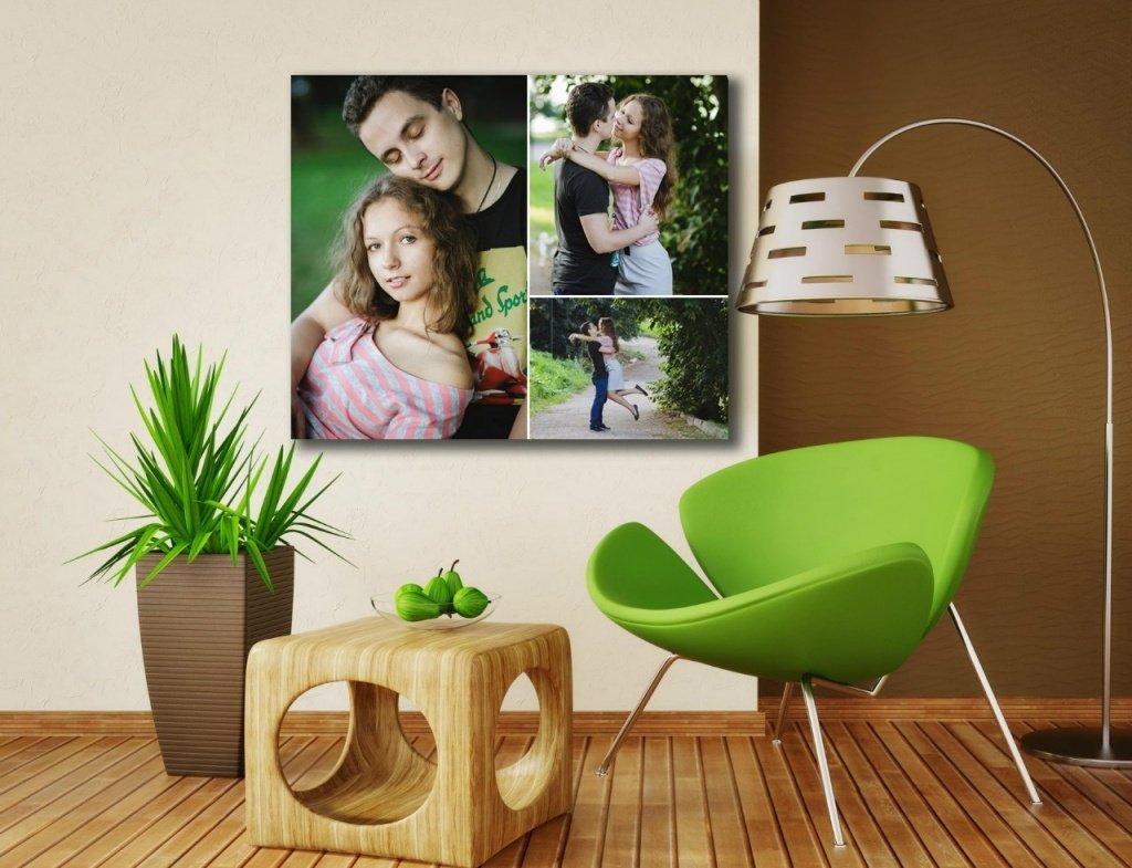 Зеленое кресло в интерьере