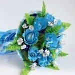 Голубой букетик