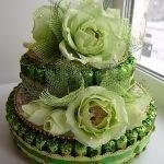 Многоуровневый тор с цветами