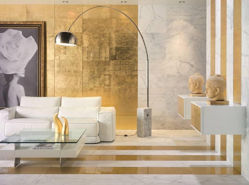 Обсуждаем Золотой цвет в интерьере: примеры оформления и сочетаний