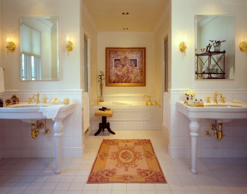 Ванная в частном особняке