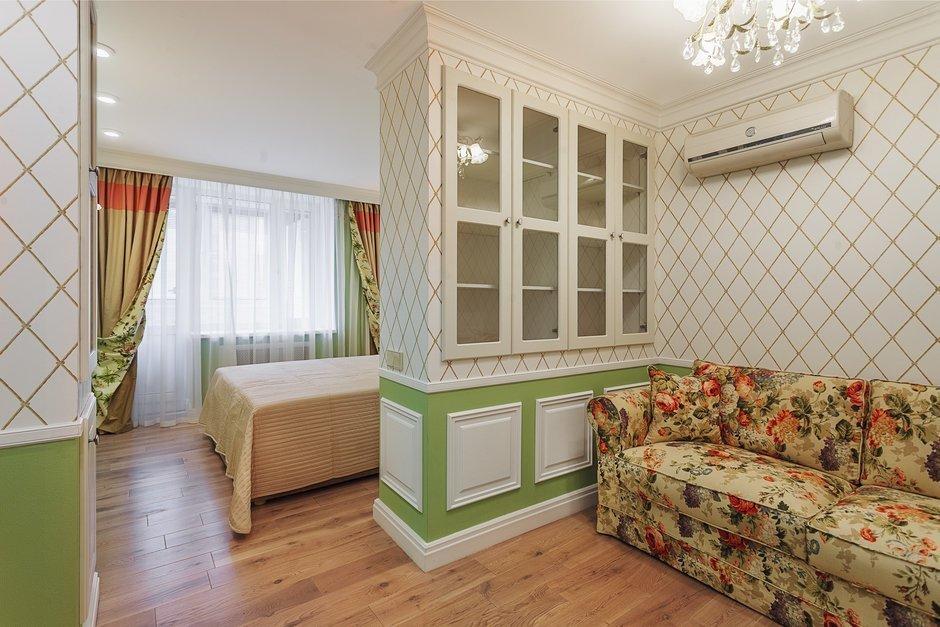 Шкаф для зонирования комнаты