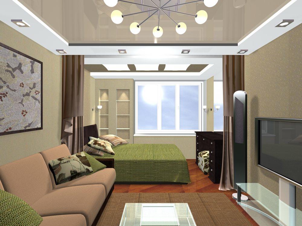 Зонирование в современной квартире