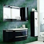 Зеленый в дизайне ванной