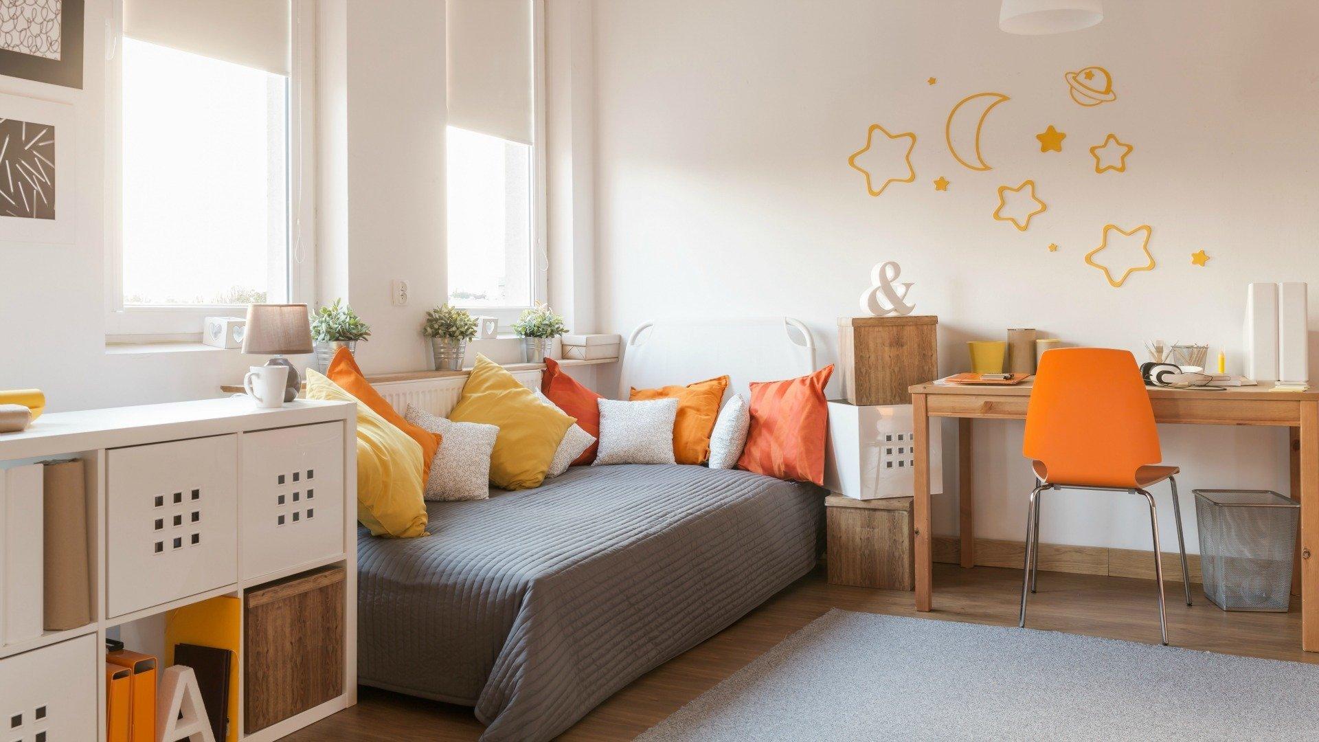 Уютная гостевая в современном стиле