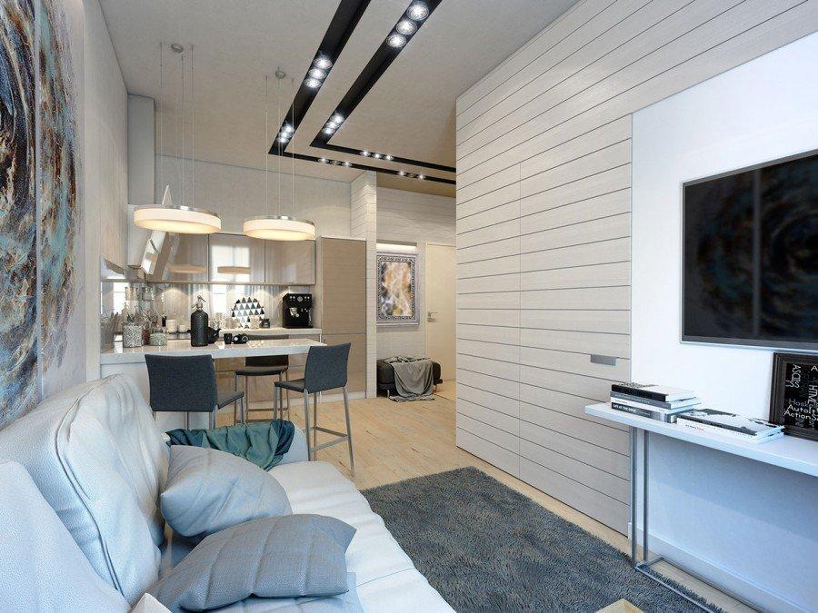 Освещение квартиры 45 кв м