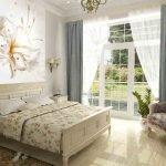 Фотообои для светлой комнаты с окном