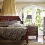 Испанская спальня в доме