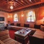 Вариант отделки комнаты в марокканском стиле
